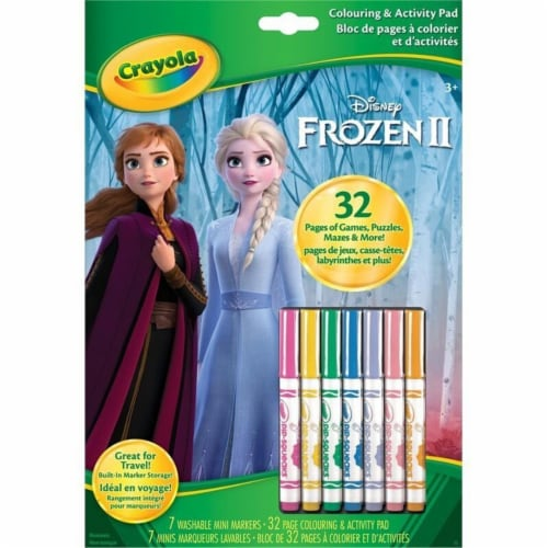 Disney Frozen II Color and Activity Book Perspective: front