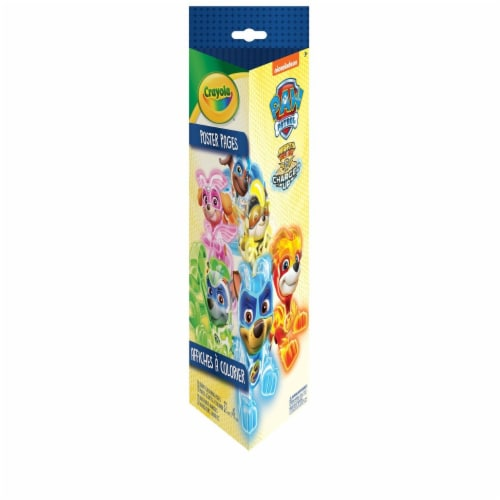 Crayola - Paw Patrol Poster Pages Perspective: front