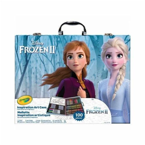 Crayola Disney Frozen II Inspiration Art Case Perspective: front