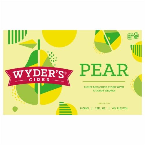 Wyder's® Pear Hard Cider Perspective: front