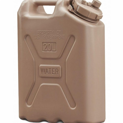 Scepter Water Container,5 gal.,Sand  06181 Perspective: front