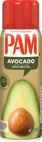 Pam Expeller Pressed Avocado Oil No-Stick Cooking Spray Perspective: front
