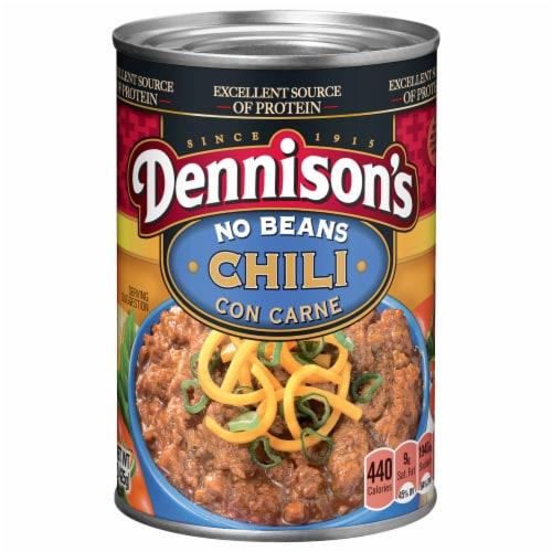 Dennison's No Bean Chili Con Carne Perspective: front