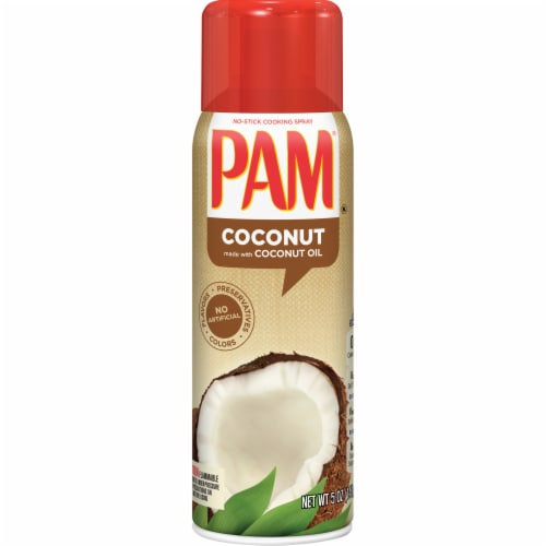 Pam Coconut Oil Cooking Spray Perspective: front