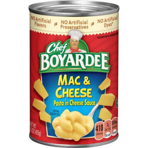 Chef Boyardee Mac & Cheese Perspective: front