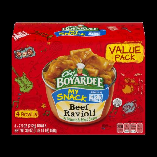 Chef Boyardee® My Snack Beef Ravioli Bowls Perspective: front