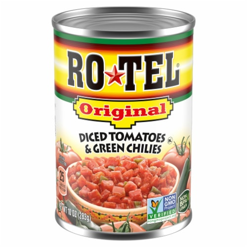 Frys Rotel Original Diced Tomatoes Green Chilies