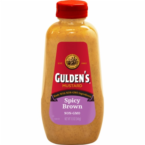 Gulden's Spicy Brown Mustard Perspective: front
