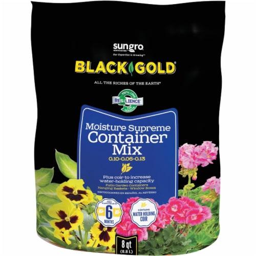 Black Gold Moisture Supreme 8 Qt. 6 Lb. Container Potting Soil 1413000.Q08P Perspective: front