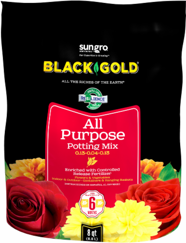 SunGro® Black Gold® All Purpose Potting Mix Perspective: front