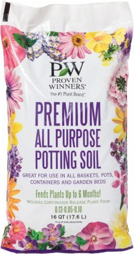 Proven Winners Premium All Purpose Potting Soil Perspective: front