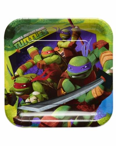 American Greetings Teenage Mutant Ninja Turtle Paper Dinner Plates Perspective: front