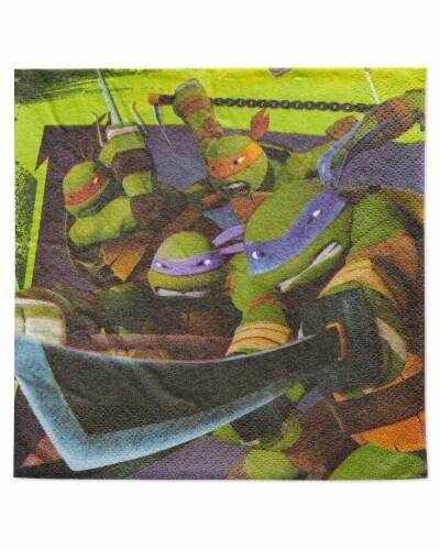 American Greetings Teenage Mutant Ninja Turtle Paper Lunch Napkins Perspective: front