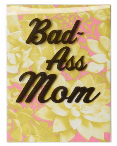 American Greetings Funny Mother's Day Card (Bad-Ass) Perspective: front