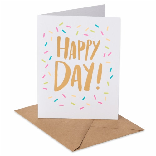 American Greetings (S16) Happy Day - Birthday Card Perspective: front