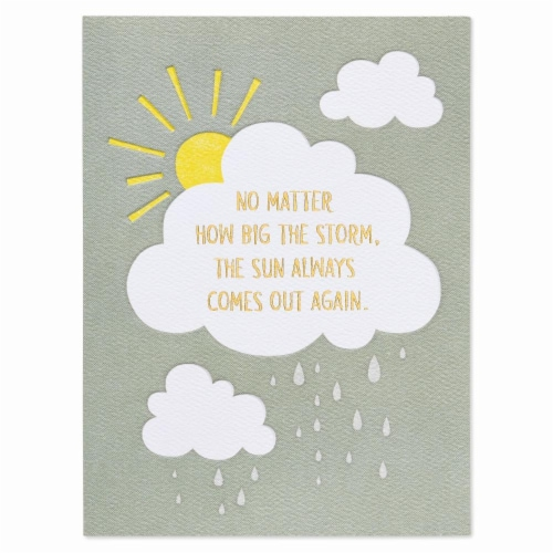 American Greetings (S25) Sunshine - You've Got This Card Perspective: front