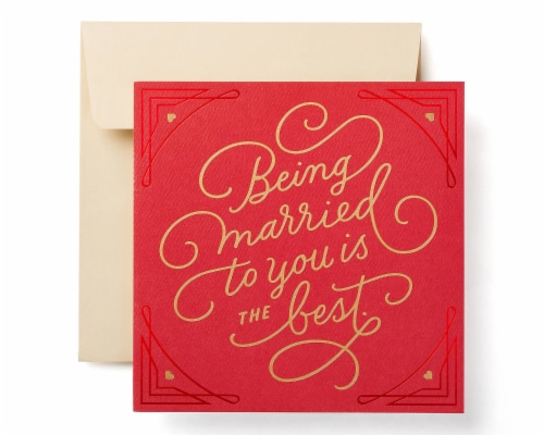 American Greetings Valentine's Day Card for Spouse (Forever) Perspective: front