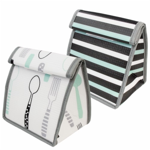 Easylunch Reusable Bag 2pk Perspective: front