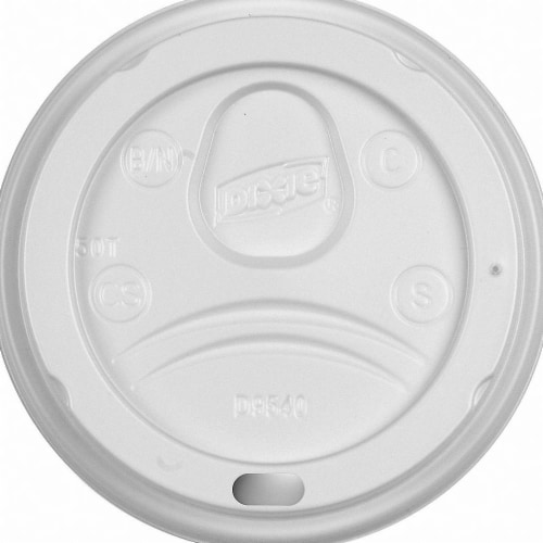 Dixie Hot Cup Lid,Type Dome,10 fl. oz.,PK1000 HAWA DL9540 Perspective: front