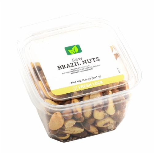 JVF Whole Unblanched Brazil Nuts Perspective: front