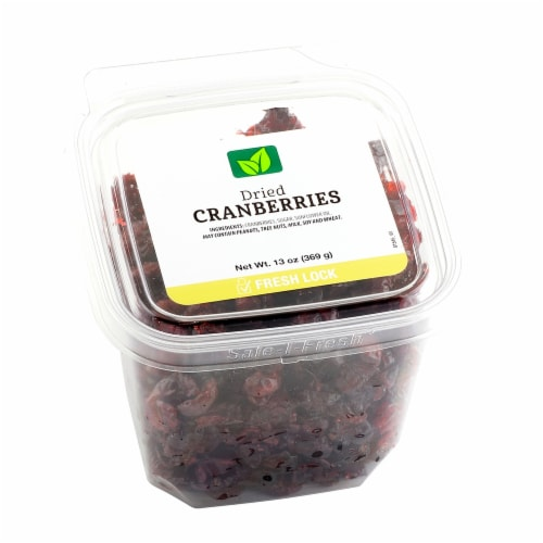 JVF Dried Cranberries Perspective: front