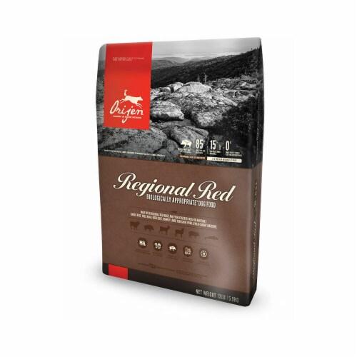 PF 31510545 4.5 lbs Orijen Regional Red Grain-Free Dry Dog Food - 7 per Bale Perspective: front