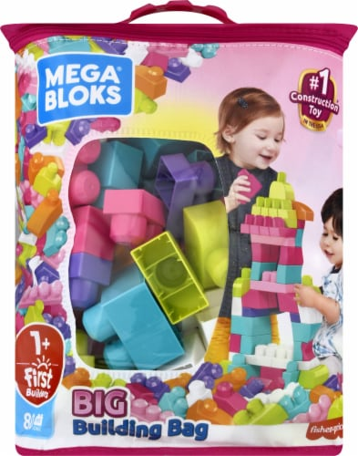 Mega Bloks® First Builders Big Building Bag Perspective: front