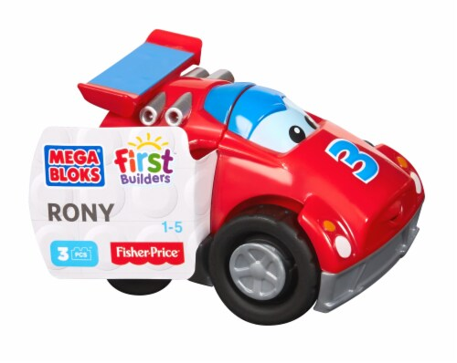 Mega Bloks® First Builders Car - Rony Perspective: front