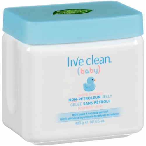 Live Clean Baby Gentle Moisture Non-Petroleum Jelly Perspective: front