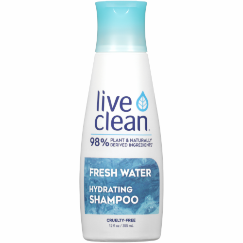 Live Clean Fresh Water Hydrating Shampoo Perspective: front
