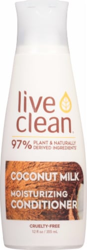 Live Clean Coconut Milk Moisturizing Conditioner Perspective: front