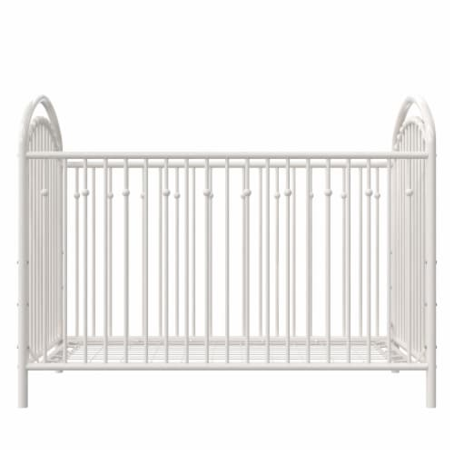 Little Seeds Aerin Metal Crib Perspective: front