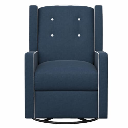 Baby Relax Mikayla Swivel Glider Recliner Chair Perspective: front
