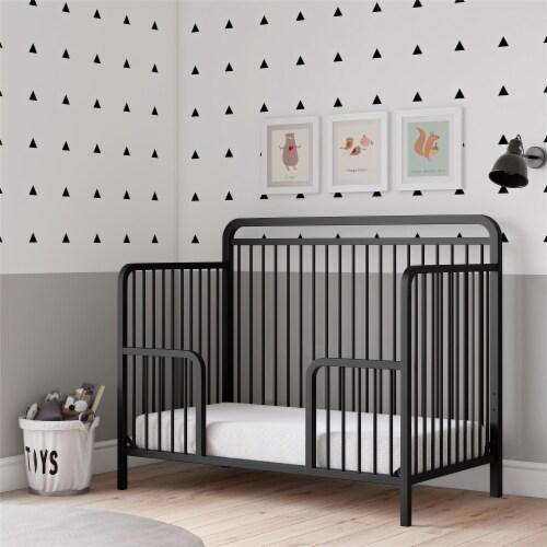 Baby Relax Juniper Metal Toddler Guardrail Perspective: front