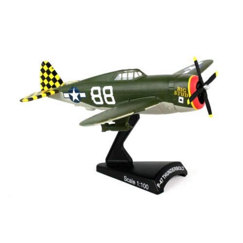 Daron DARPS5359-2 Postage Stamp Collection - Republic P-47 Thunderbolt Big Stud Perspective: front