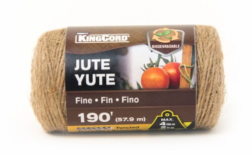 Mibro Kingcord Fine Jute Yute Twisted Twine Perspective: front