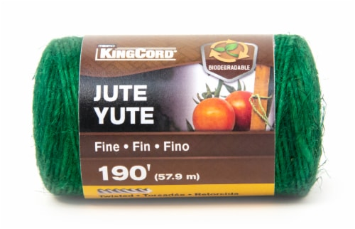 Mibro Kingcord Jute Twine Natural Green Perspective: front