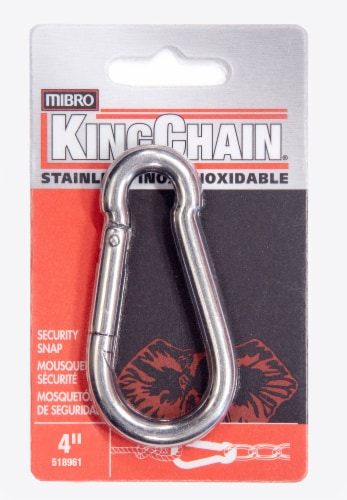 Mibro Kingchain Stainless Steel  Security Snap Perspective: front