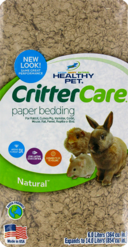Healthy Pet Critter Care Paper Bedding Perspective: front