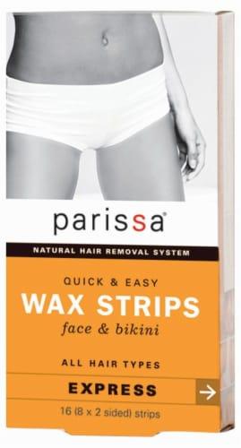 Parissa Quick & Easy Face & Bikini Wax Strips Perspective: front