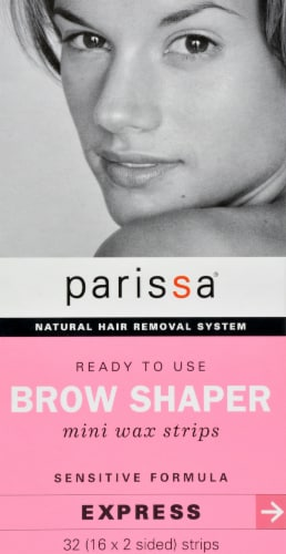 Parissa Mini Wax Strips Brow Shaper Express Perspective: front