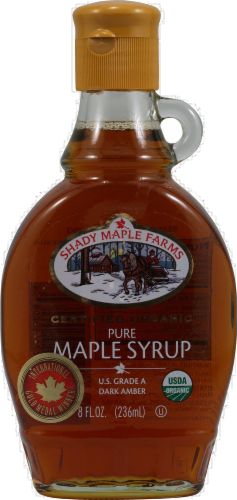 Shady Maple Farms Organic Maple Syrup Perspective: front