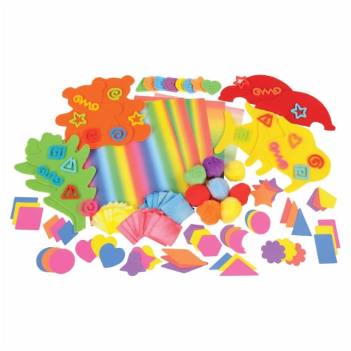 Roylco Toddler Creative Open-Ended Art Kit Perspective: front