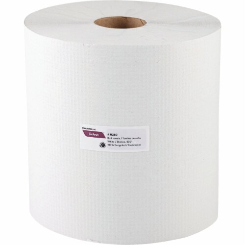 Cascades Pro Select White Hard Roll Towel (6 Count) H280 Perspective: front