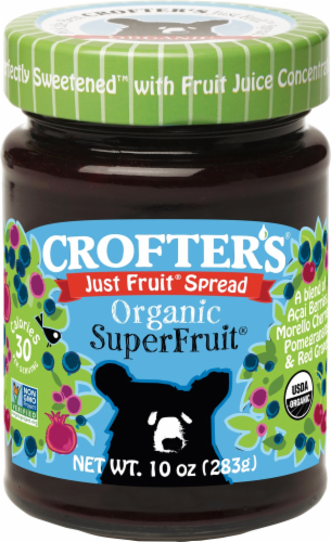 Crofter's Organic Just FruitSuperFruit Spread Perspective: front