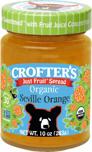 Crofters  Seville Orange Organic Just Fruit Spread Perspective: front