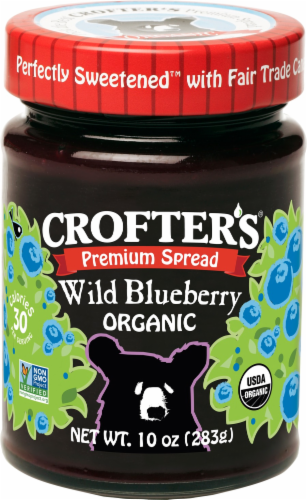 Crofter's Wild Blueberry Premium Spread Perspective: front