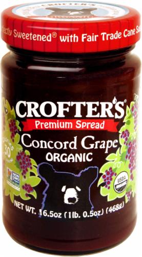 Crofters Organic Concord Grape Premium Spread Perspective: front