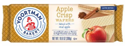 Voortman Bakery Apple Crisp Wafers Perspective: front