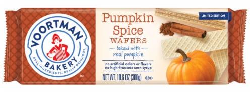 Voortman Bakery Pumpkin Spice Wafers Perspective: front